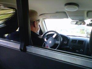 Police Cruise back seat