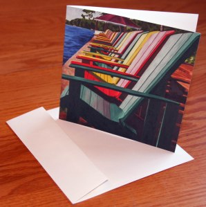 Always Room for Friends Note Card