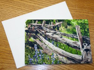 Split Rail Fence card